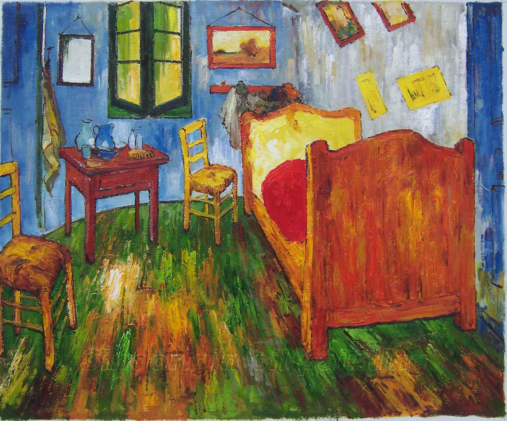 Vincent Van Gogh Oil Painting. Vincent Van Gogh Bedroom In Arles   Bedroom Style Ideas
